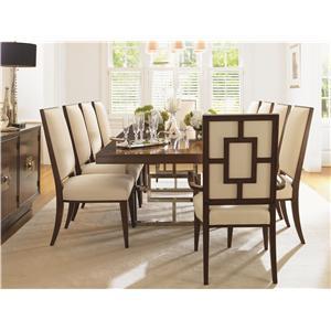 Lexington Mirage 11 Piece Dining Room Set
