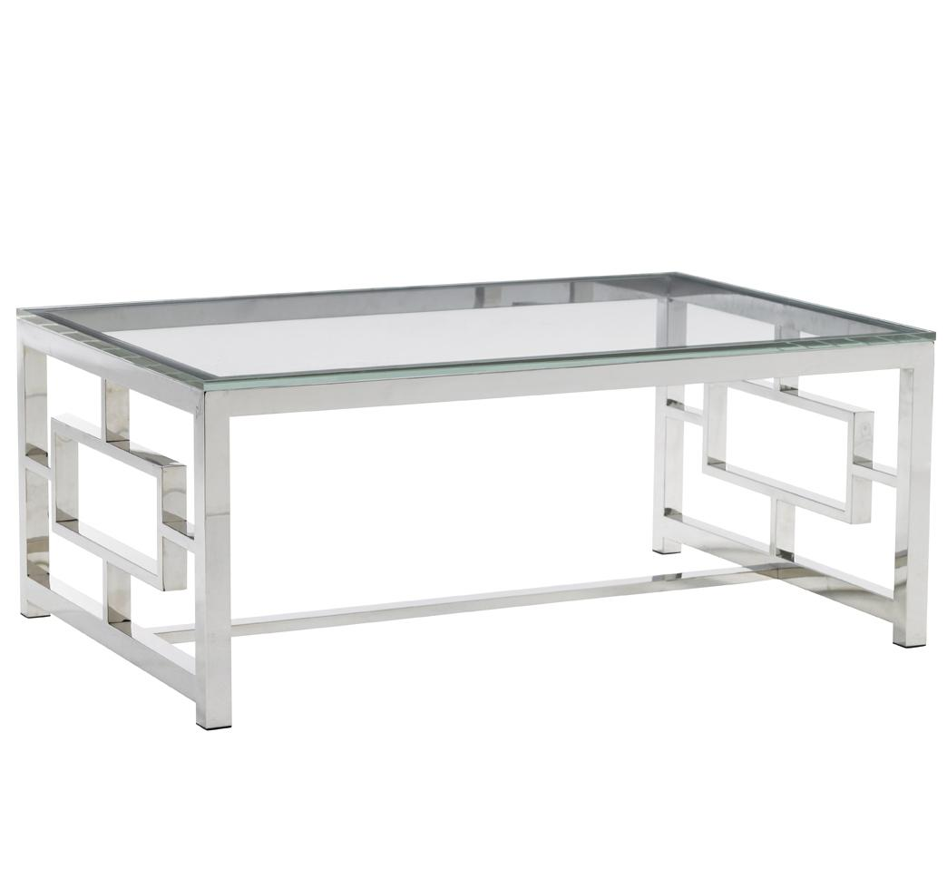 Mirage Russell Glass Top Cocktail Table by Lexington at Baer's Furniture