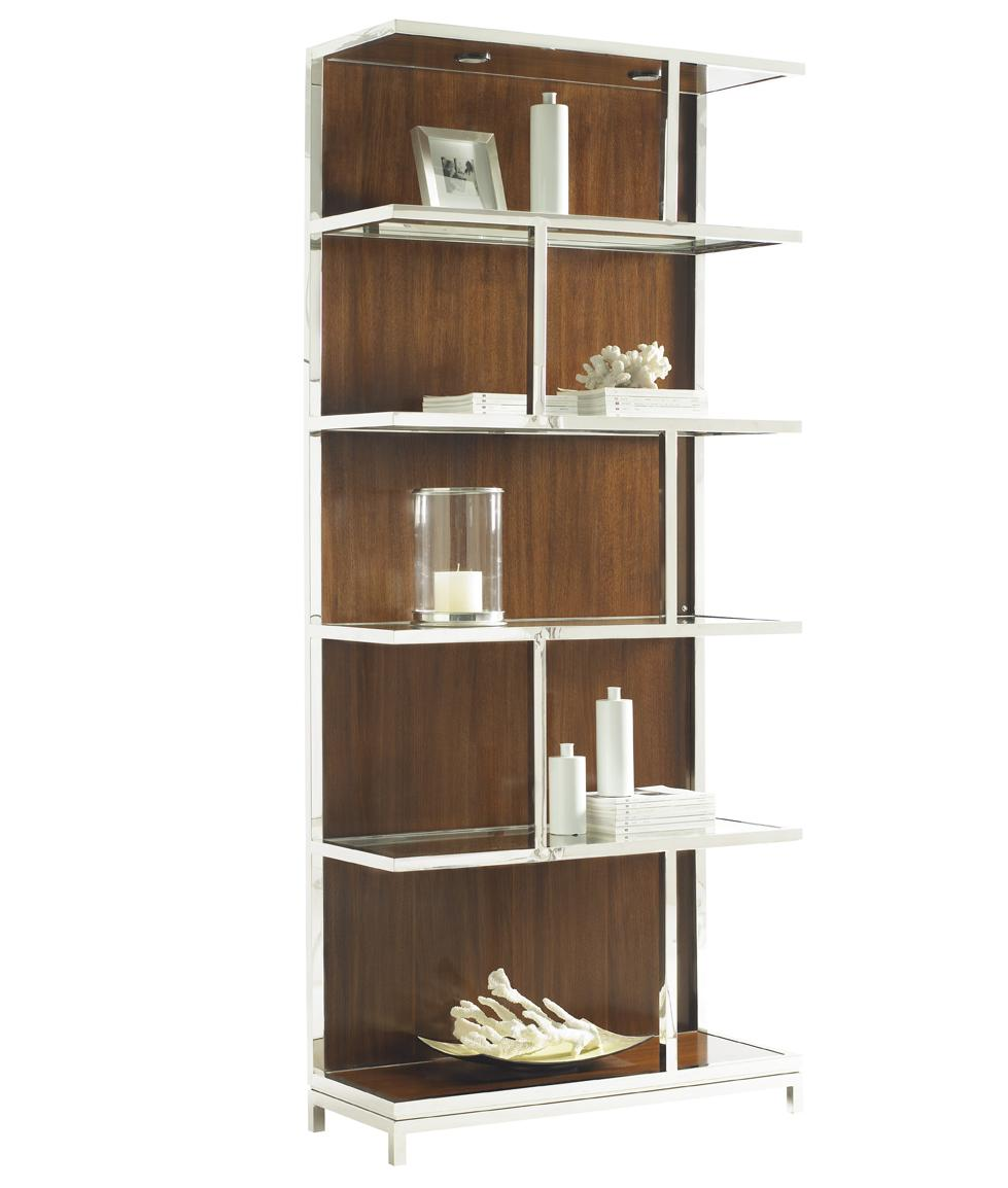 Mirage Kelly Bookcase by Lexington at Jacksonville Furniture Mart