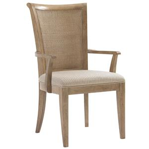 Los Altos Arm Chair with Tapered Legs