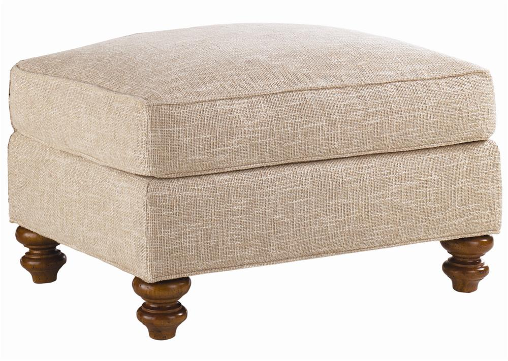 Quick Ship Upholstery Quick Ship West Shore Ottoman by Lexington at Jacksonville Furniture Mart