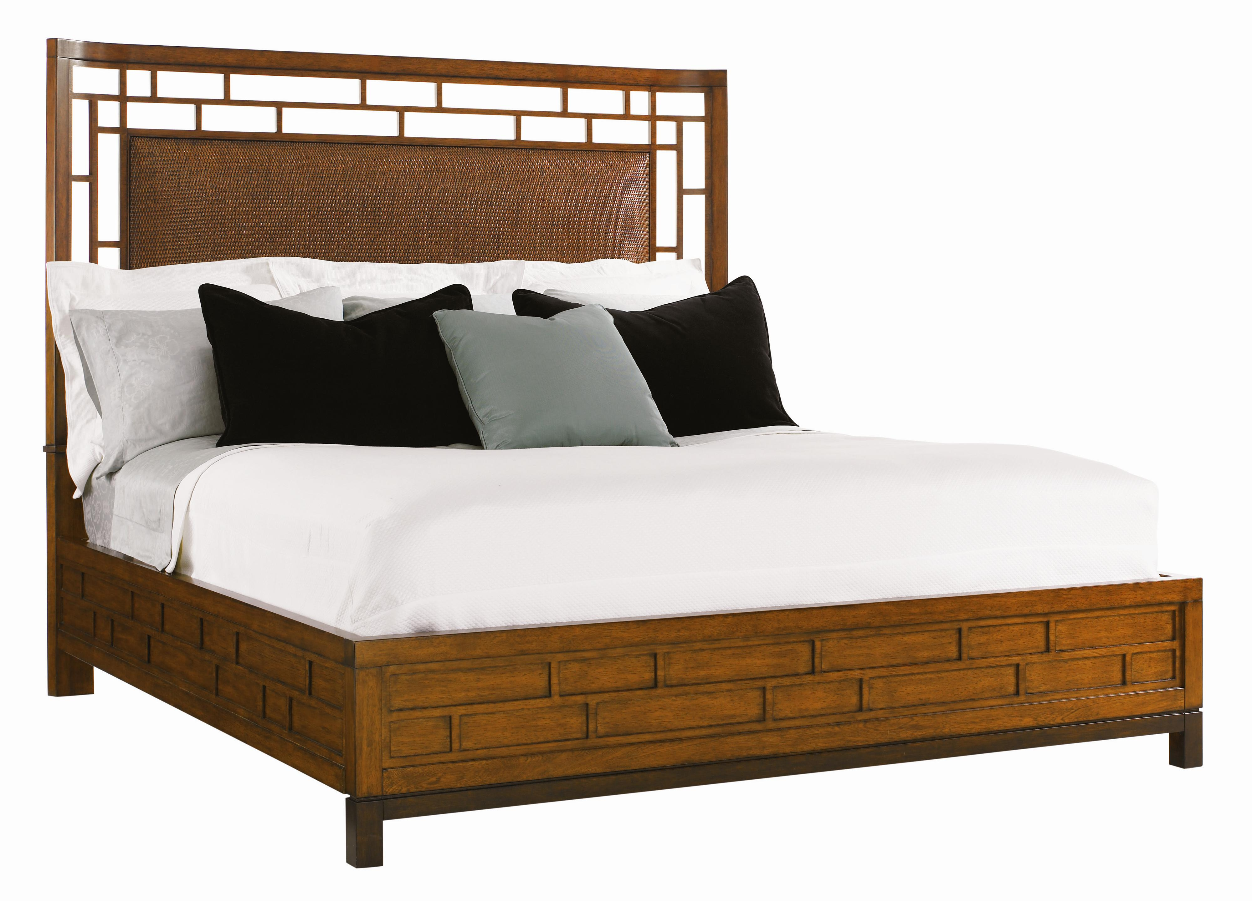 Ocean Club King Paradise Point Bed by Tommy Bahama Home at Baer's Furniture