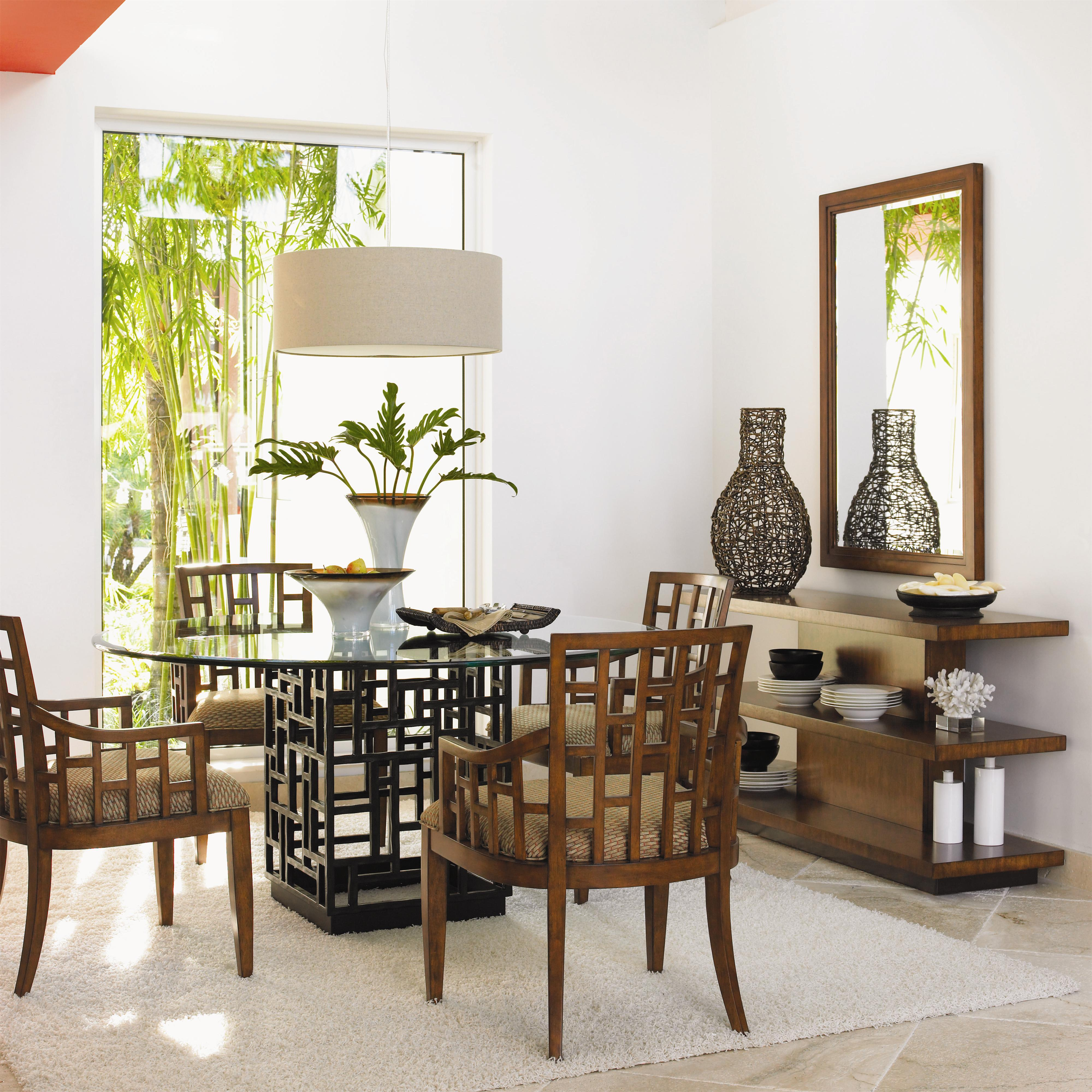 Ocean Club 5 Piece Table & Chair Set by Tommy Bahama Home at Baer's Furniture
