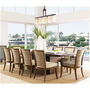 Tommy Bahama Home Ocean Club 11 Piece Table & Chair Set