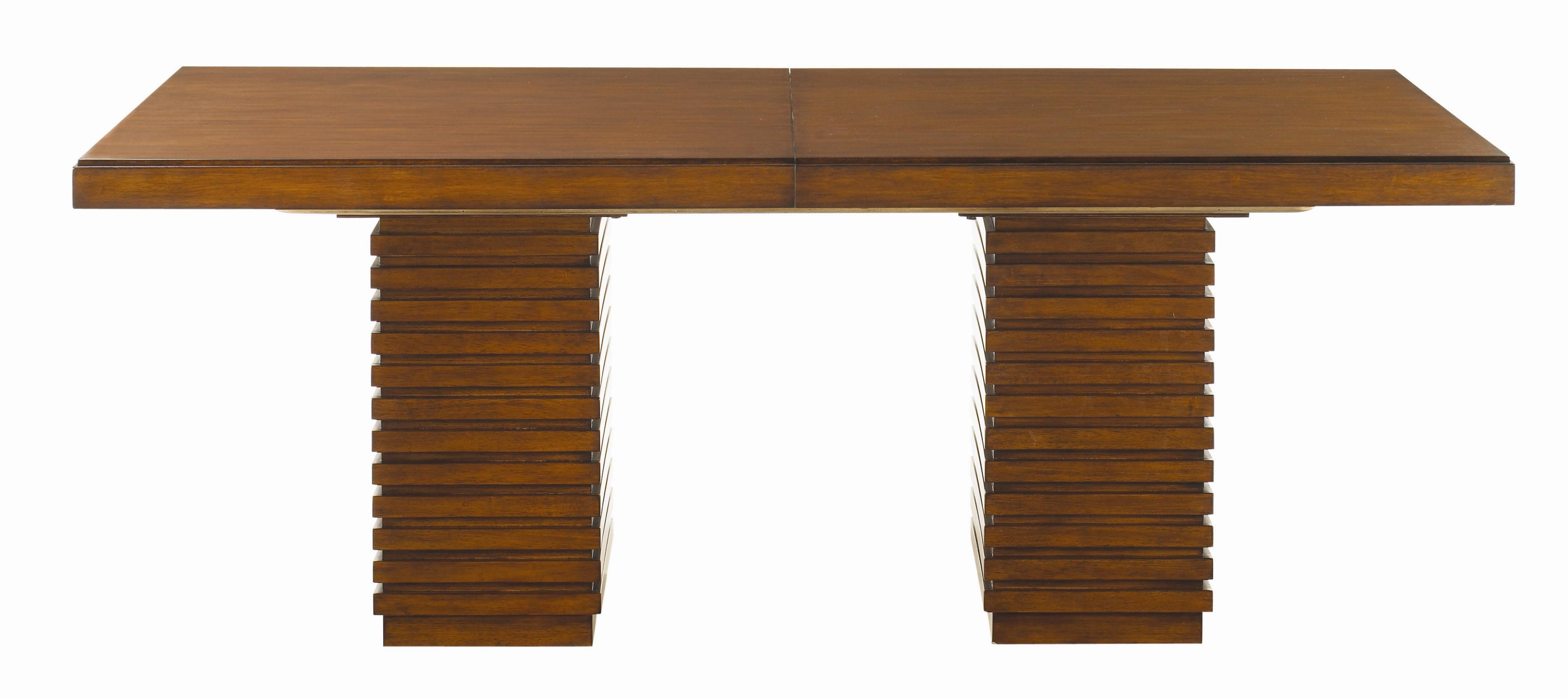 Ocean Club Peninsula Dining Table by Tommy Bahama Home at Baer's Furniture