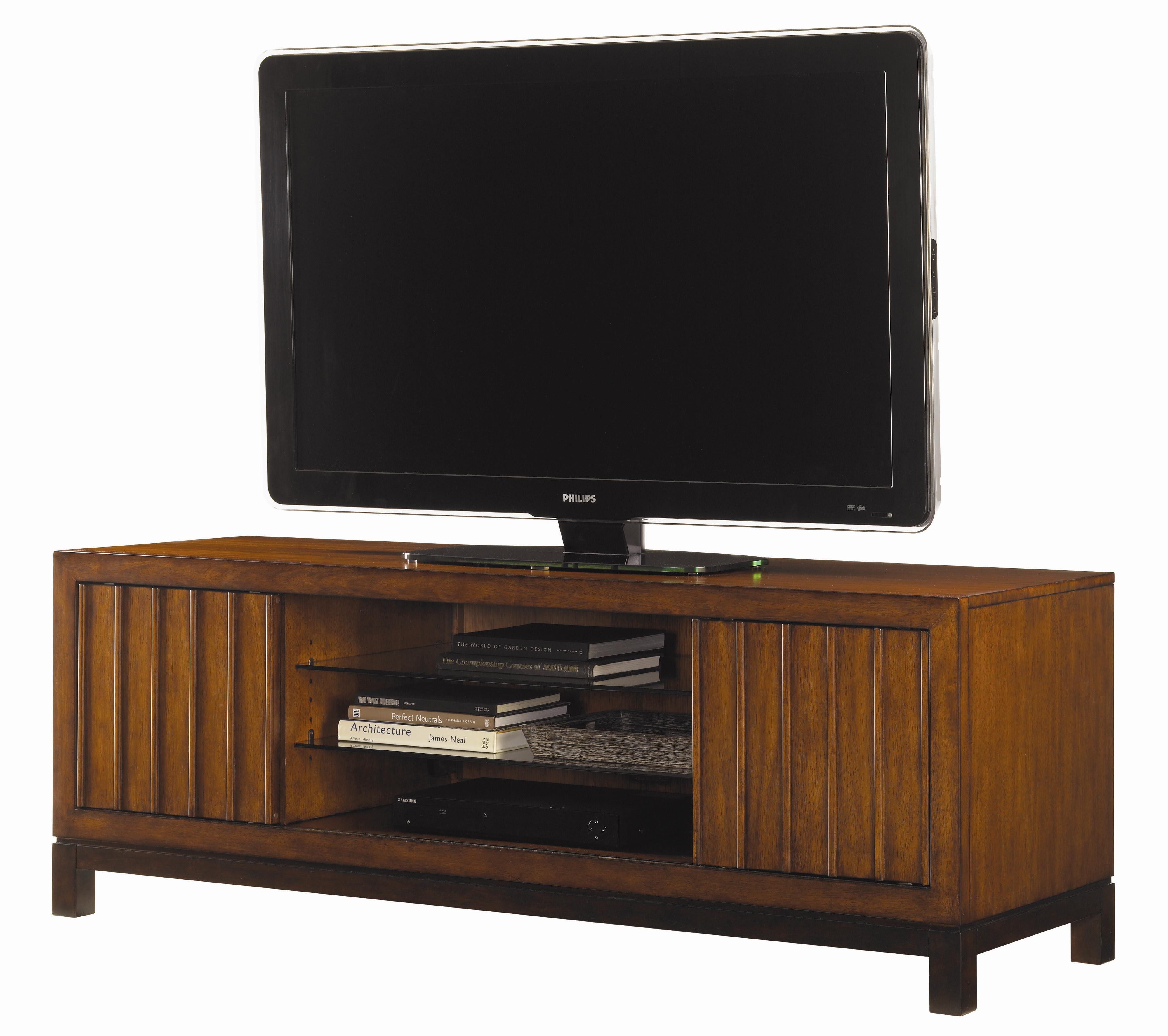 Ocean Club Intrepid Entertainment Console by Tommy Bahama Home at Baer's Furniture