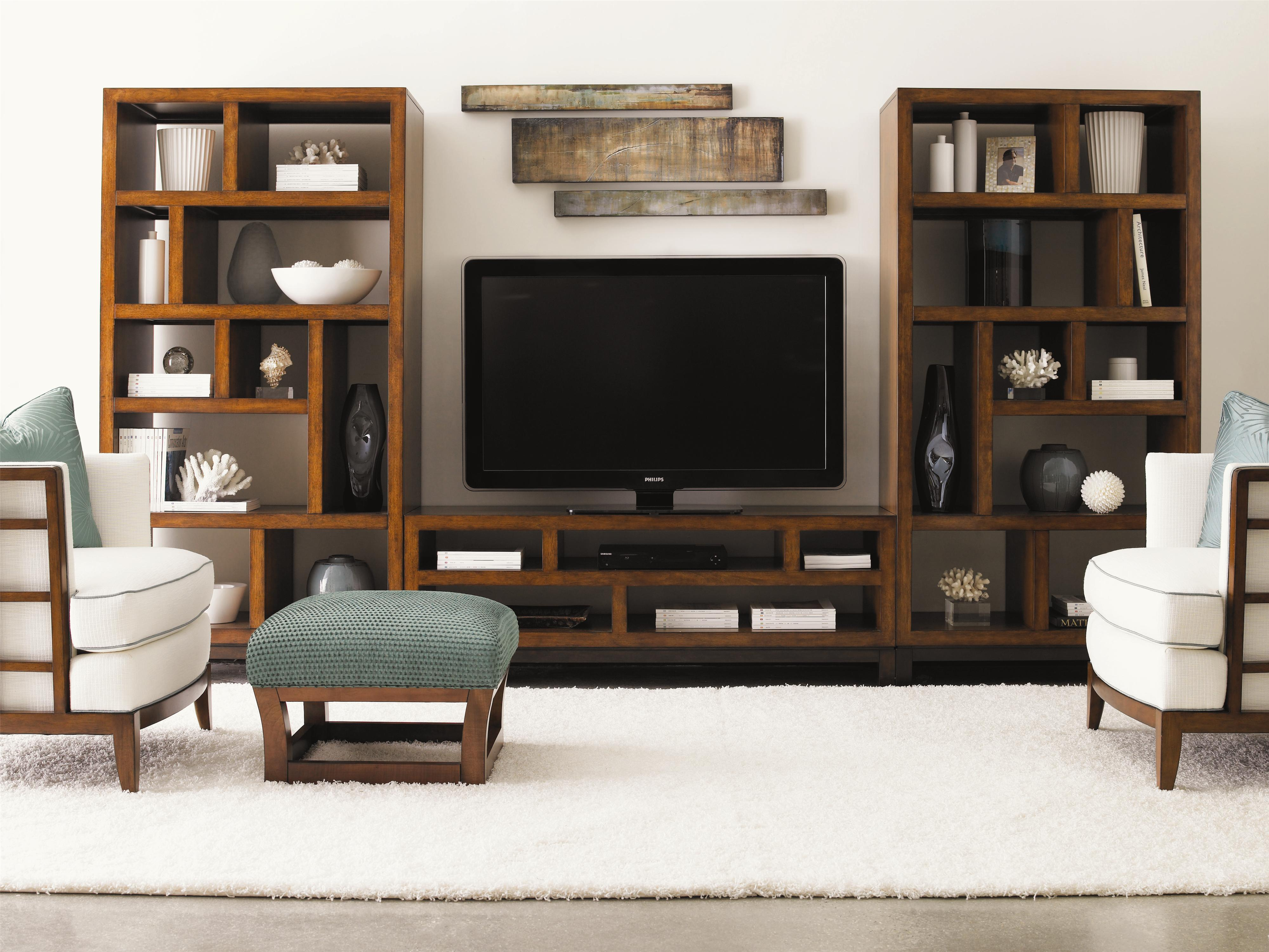 Ocean Club 3 Piece Modular Wall Unit by Tommy Bahama Home at Baer's Furniture