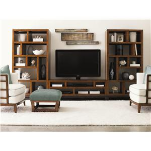 Tommy Bahama Home Ocean Club 3 Piece Modular Wall Unit