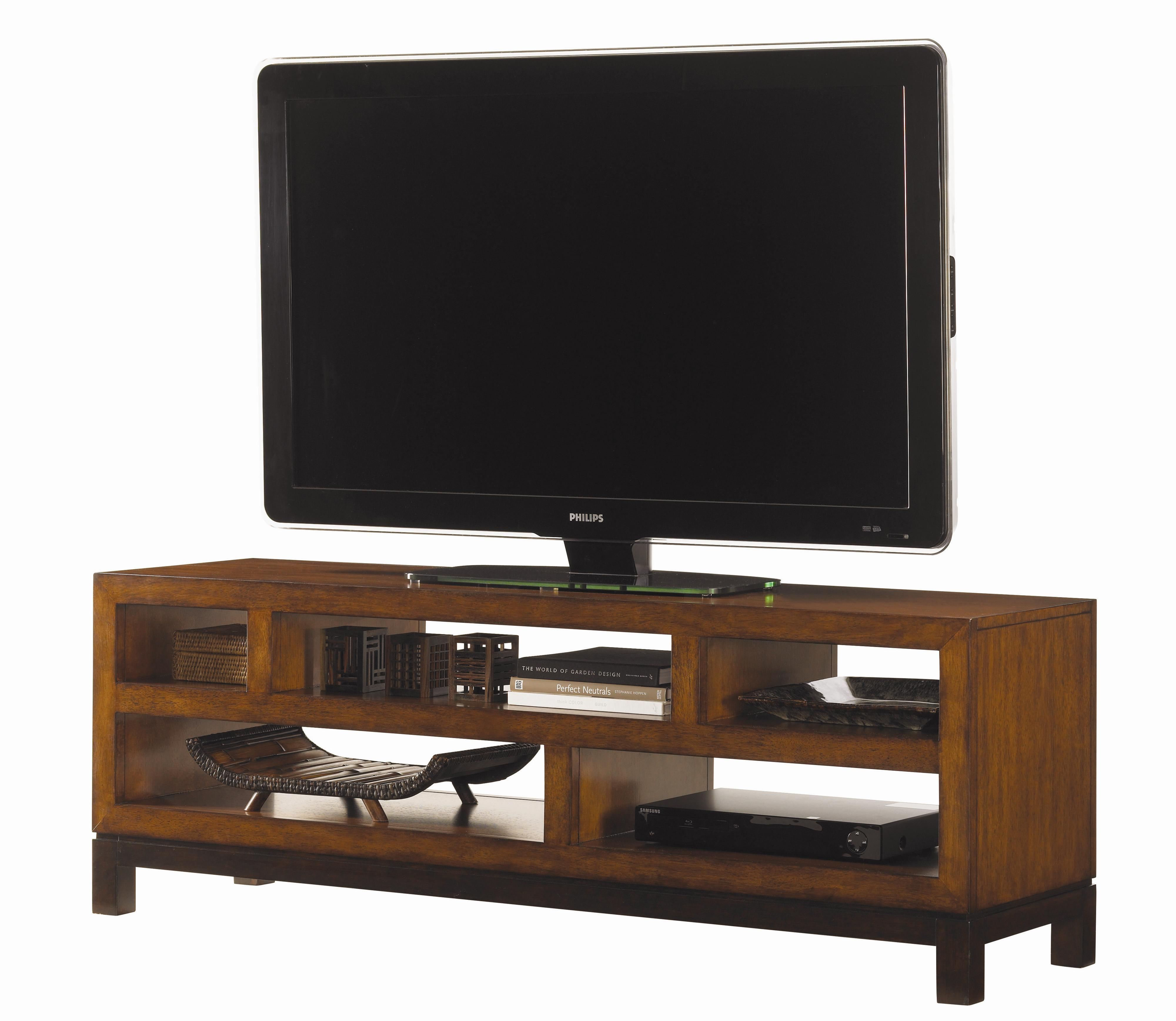 Ocean Club Pacifica Entertainment Console by Tommy Bahama Home at Baer's Furniture