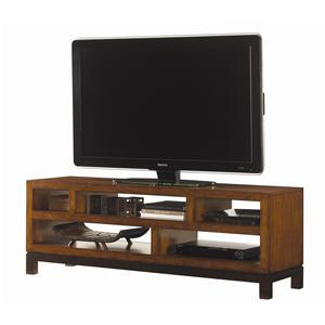 Pacifica Entertainment Console with Five Shelves