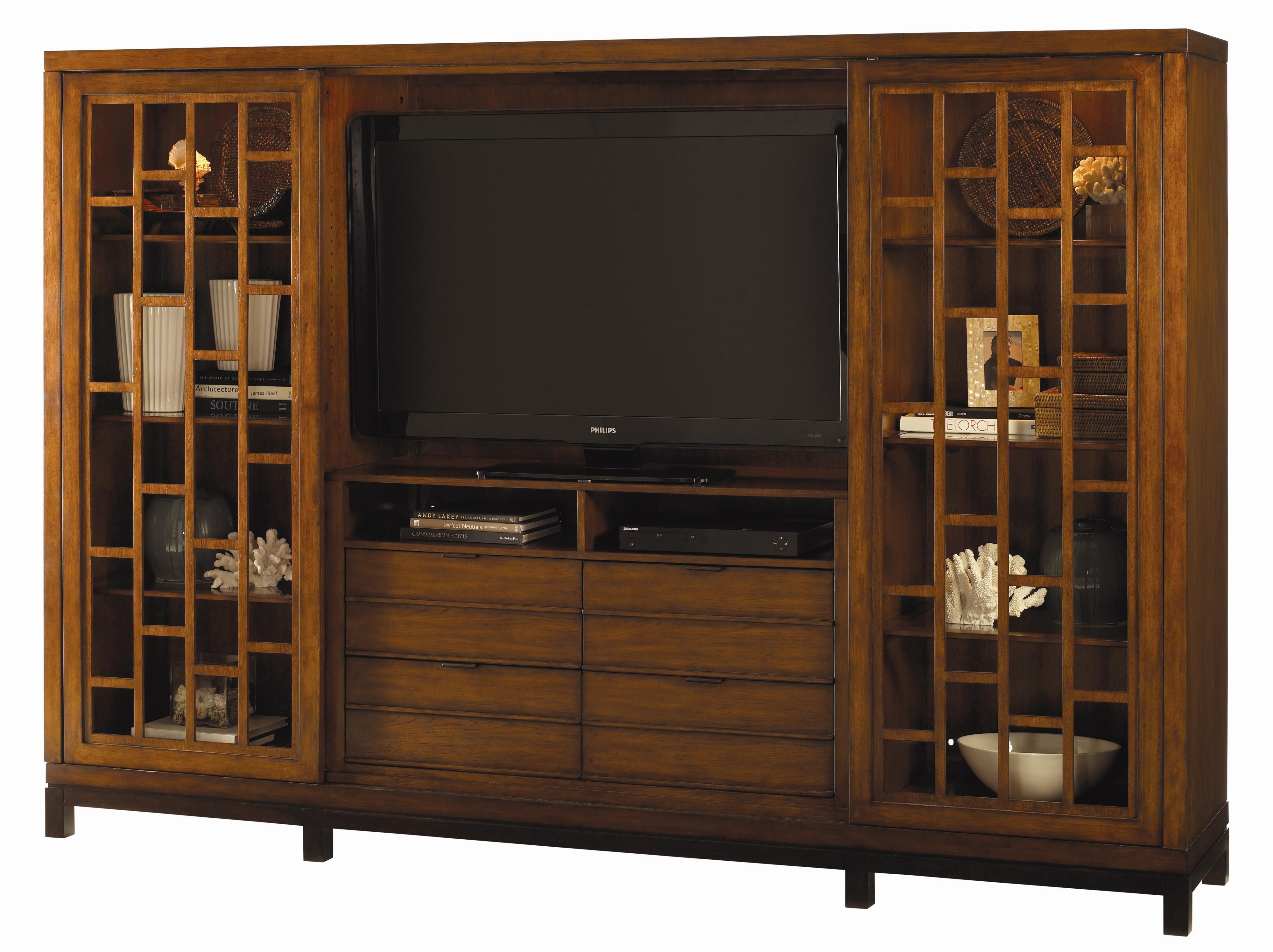 Ocean Club Point Break Entertainment Chest by Tommy Bahama Home at Baer's Furniture