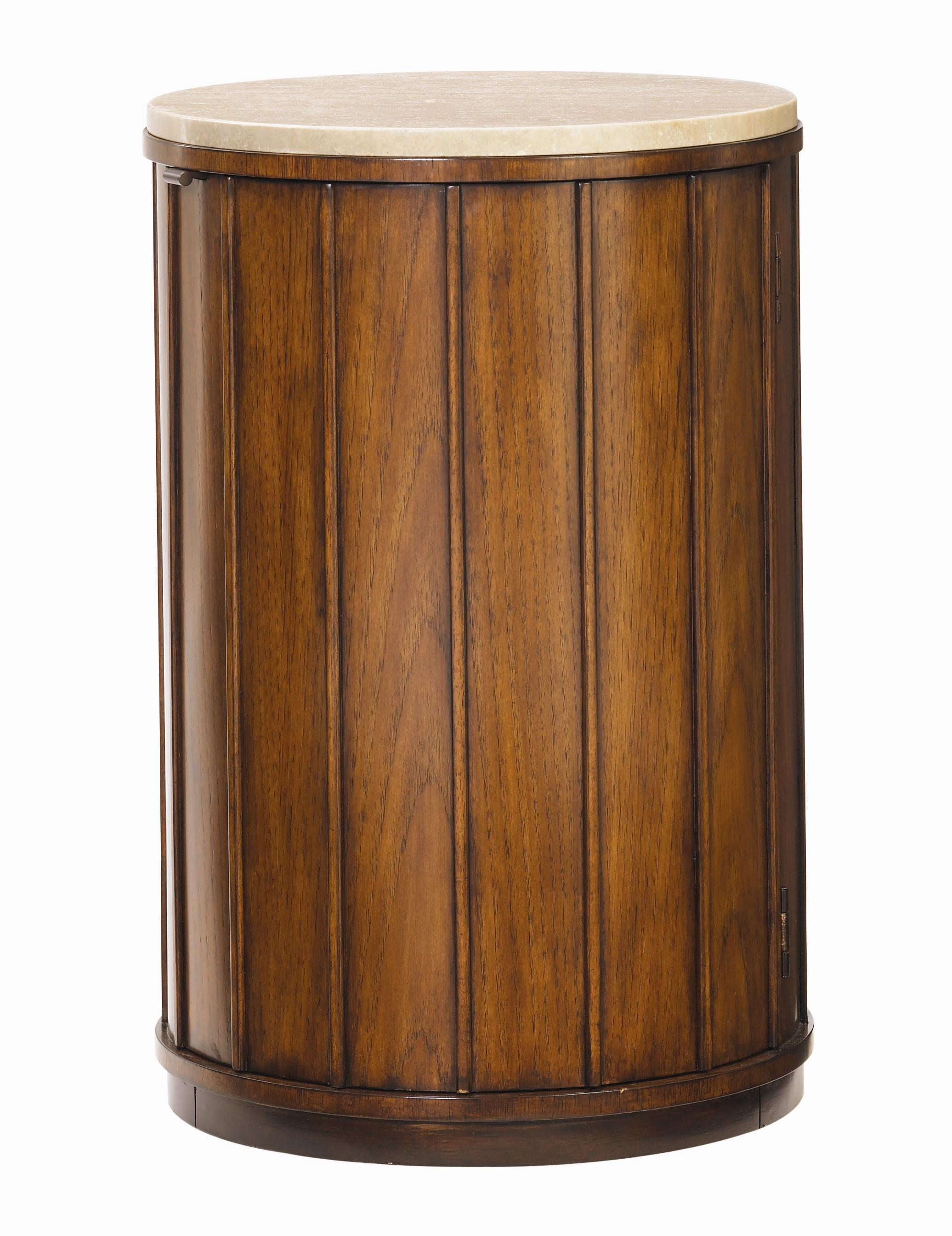 Ocean Club Fiji Drum Table by Tommy Bahama Home at Johnny Janosik