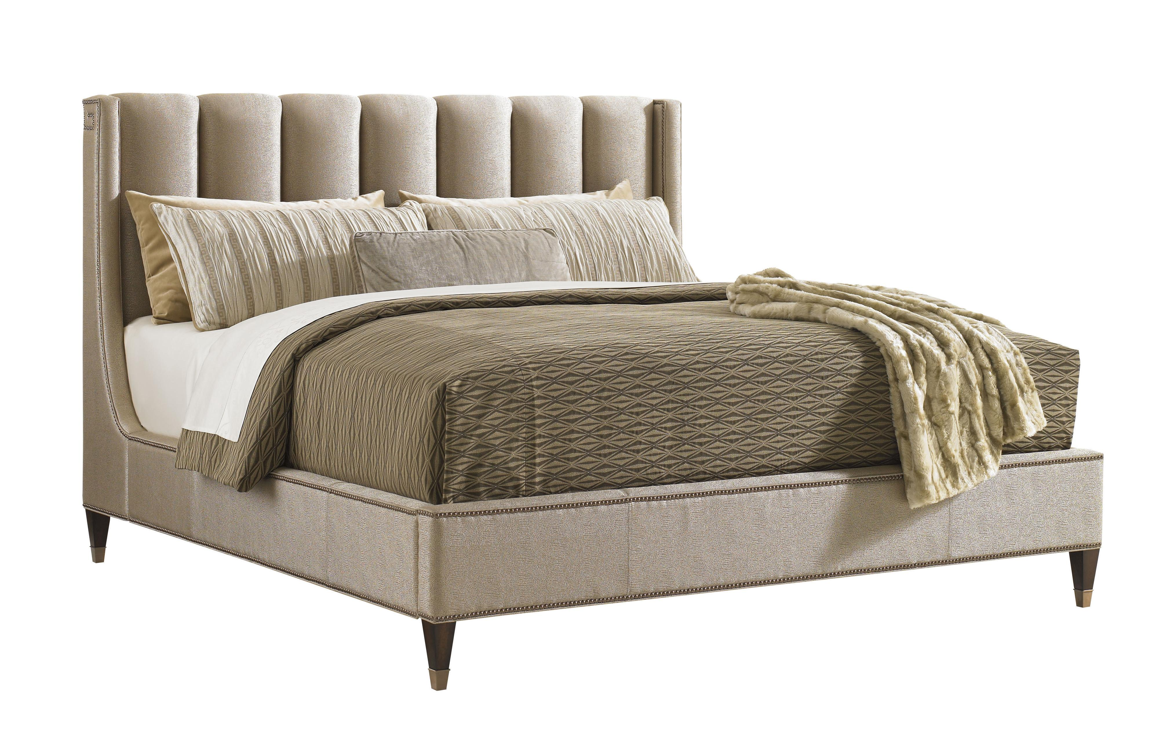 Tower Place Queen Barrington Upholstered Bed by Lexington at Johnny Janosik
