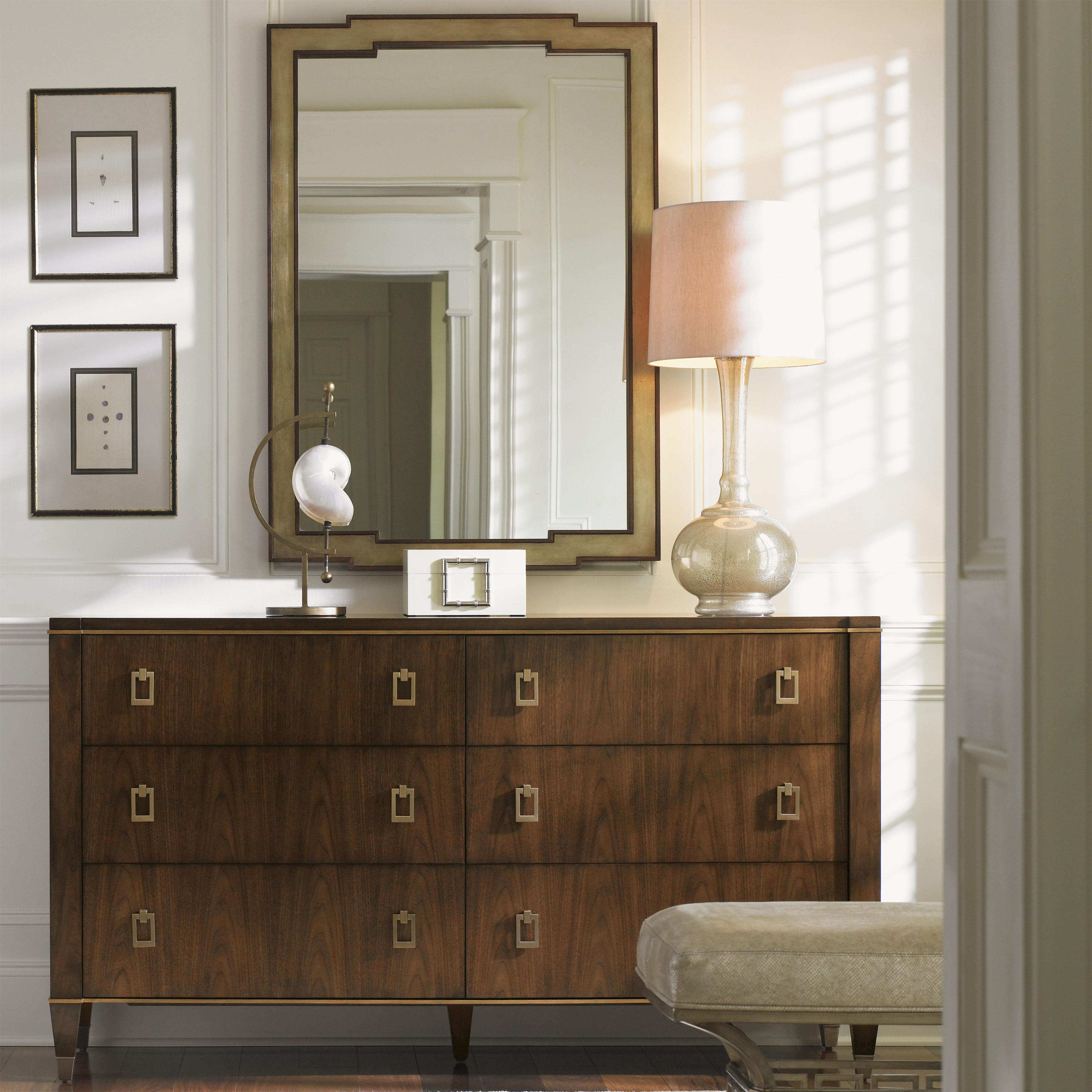 Tower Place Madison Dresser and Glencoe Mirror by Lexington at Johnny Janosik