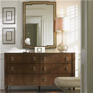 Lexington Tower Place Madison Dresser and Glencoe Mirror