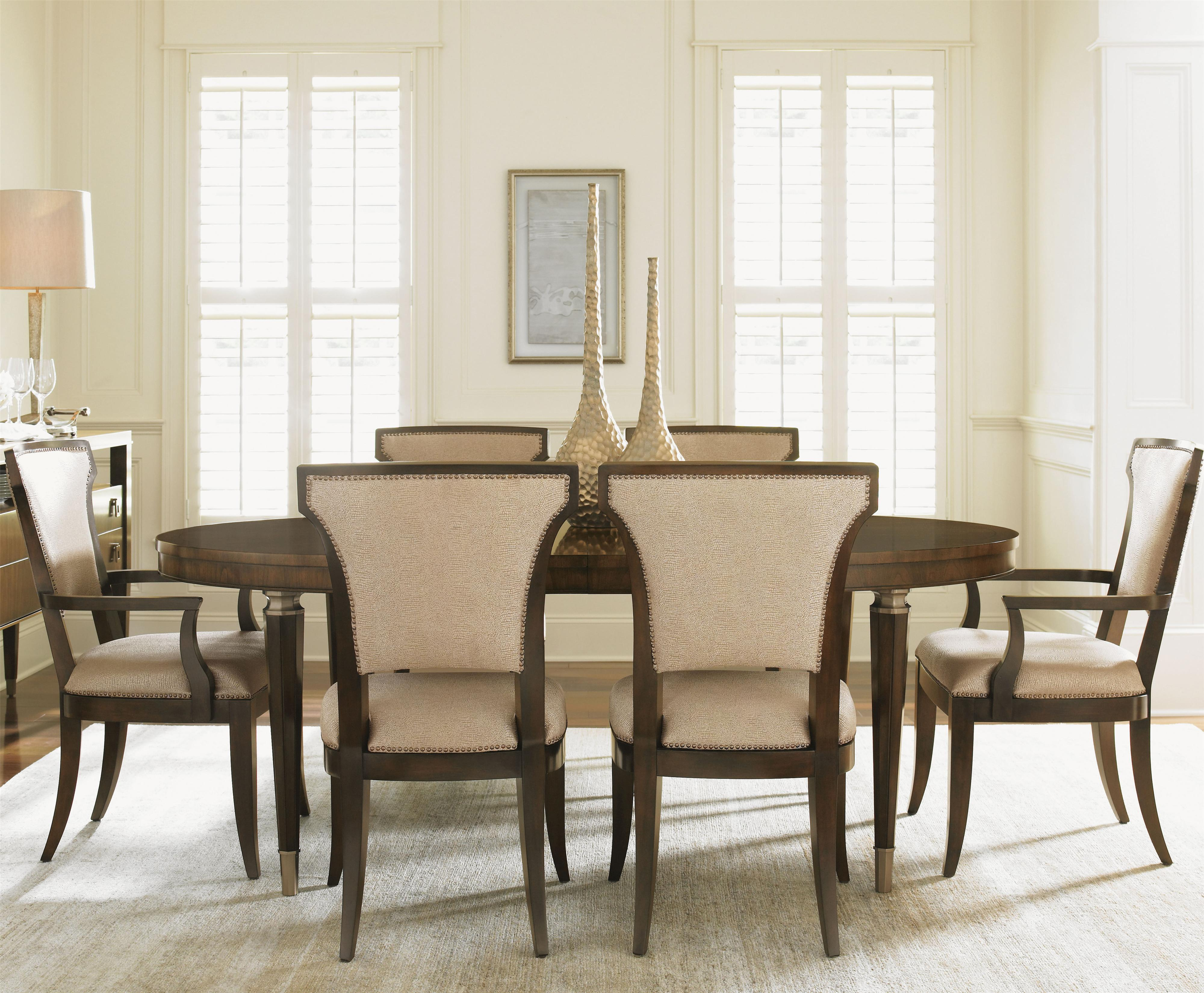 Tower Place 7 Piece Dining Set with Drake Table by Lexington at Baer's Furniture