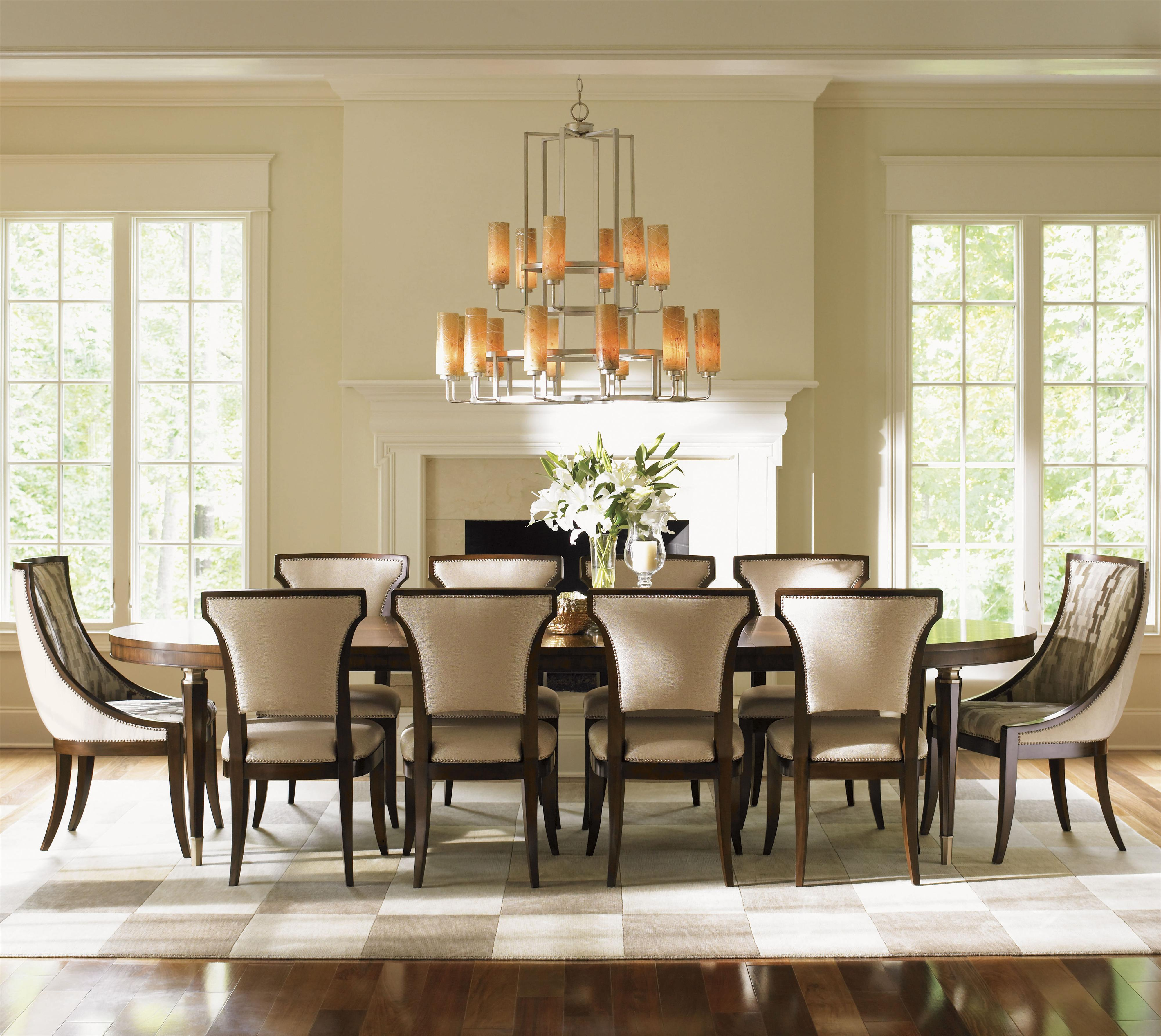 Tower Place 11 Piece Dining Set with Host Chairs by Lexington at Baer's Furniture