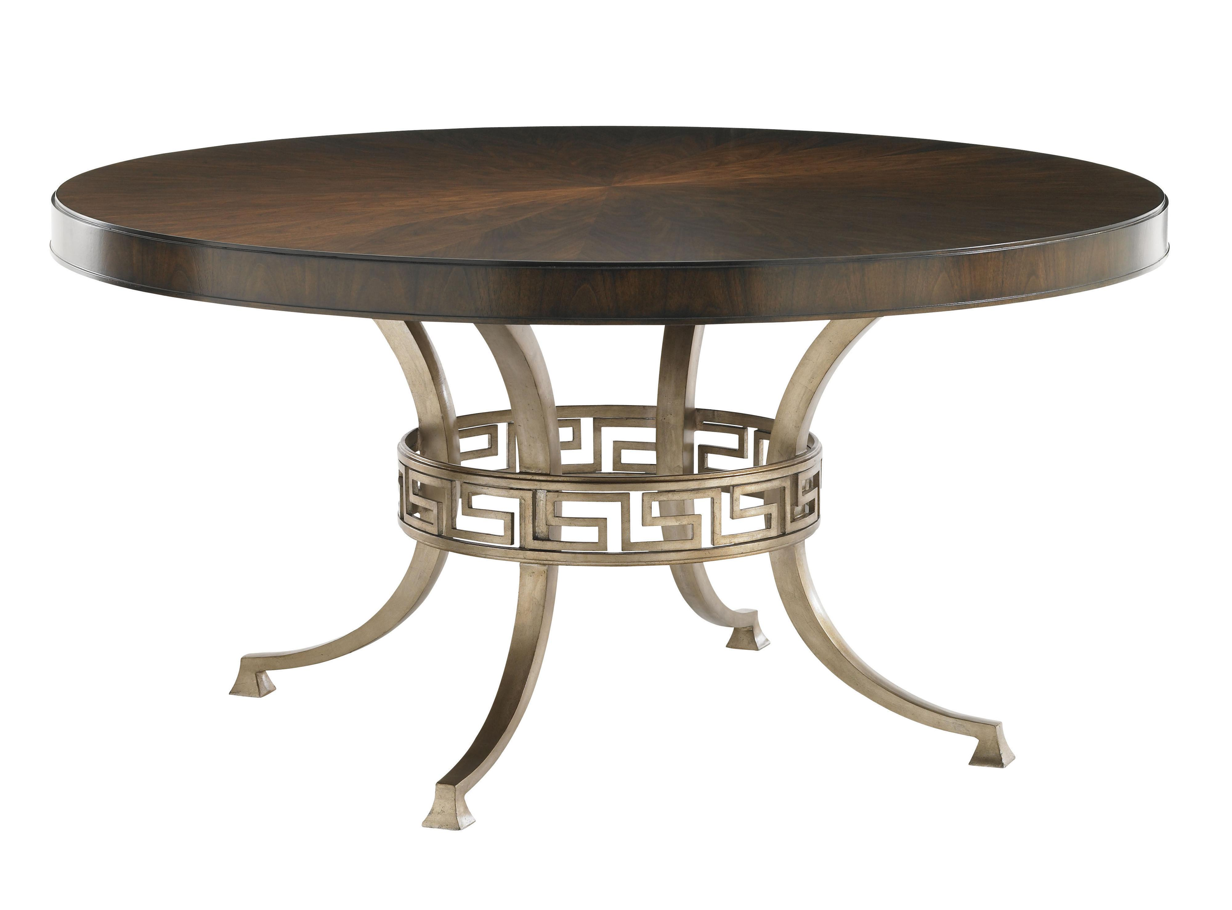 Tower Place Regis Round Dining Table by Lexington at Johnny Janosik