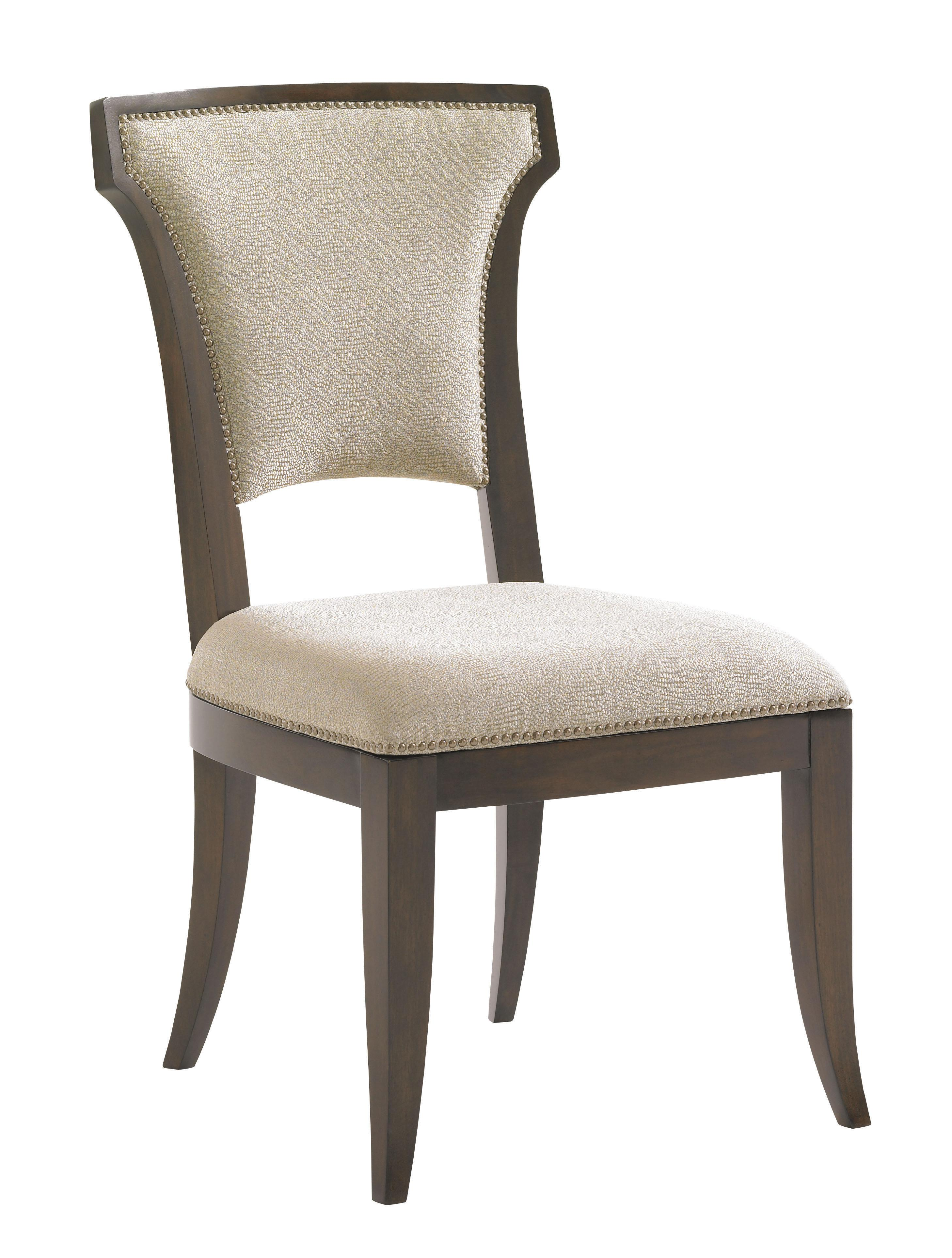 Tower Place Seneca Side Chair w/ Married Fabric by Lexington at Johnny Janosik