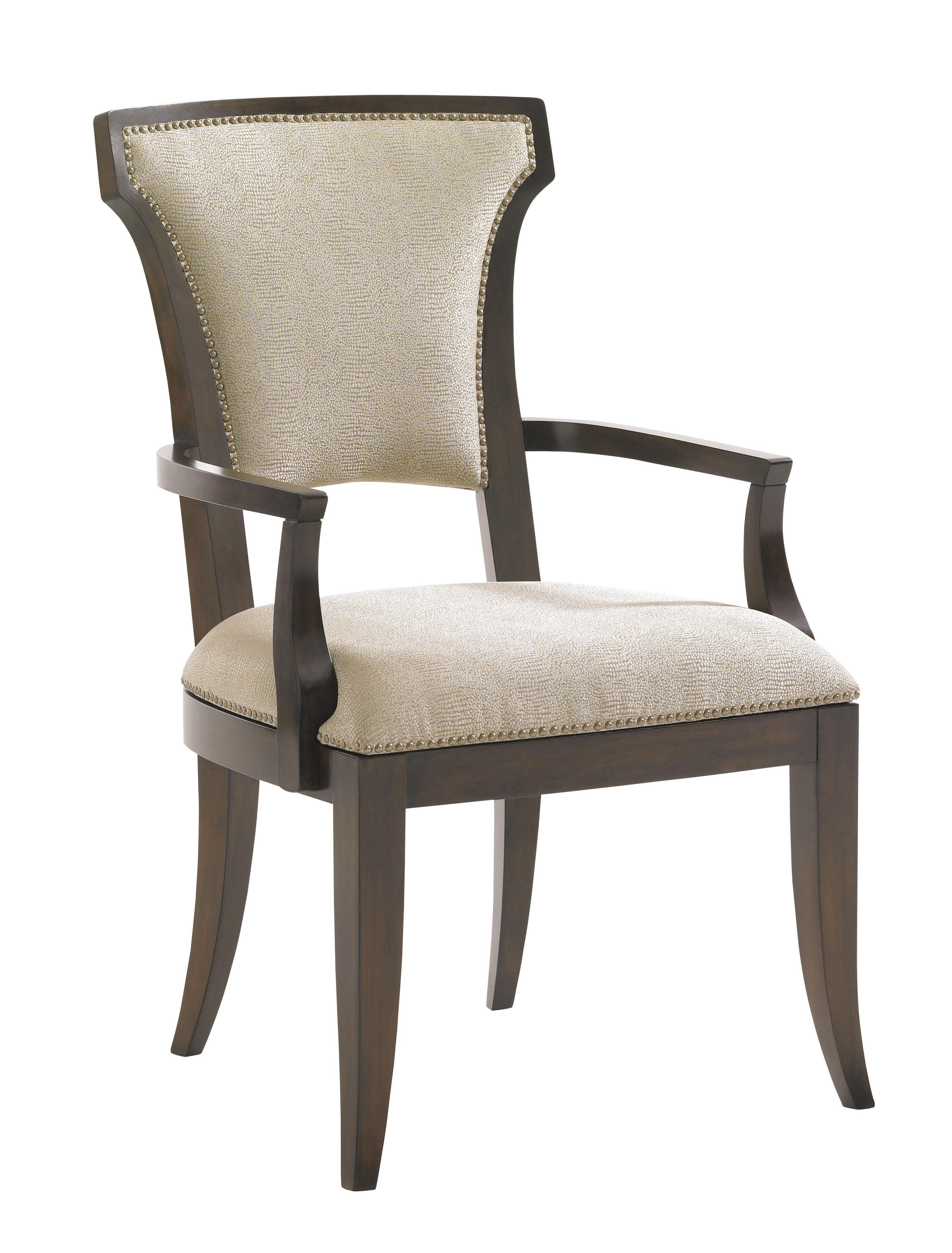 Tower Place Seneca Arm Chair w/ Married Fabric by Lexington at Johnny Janosik
