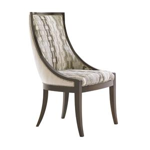 Contemporary <b>Customizable</b> Talbot Upholstered Host Chair