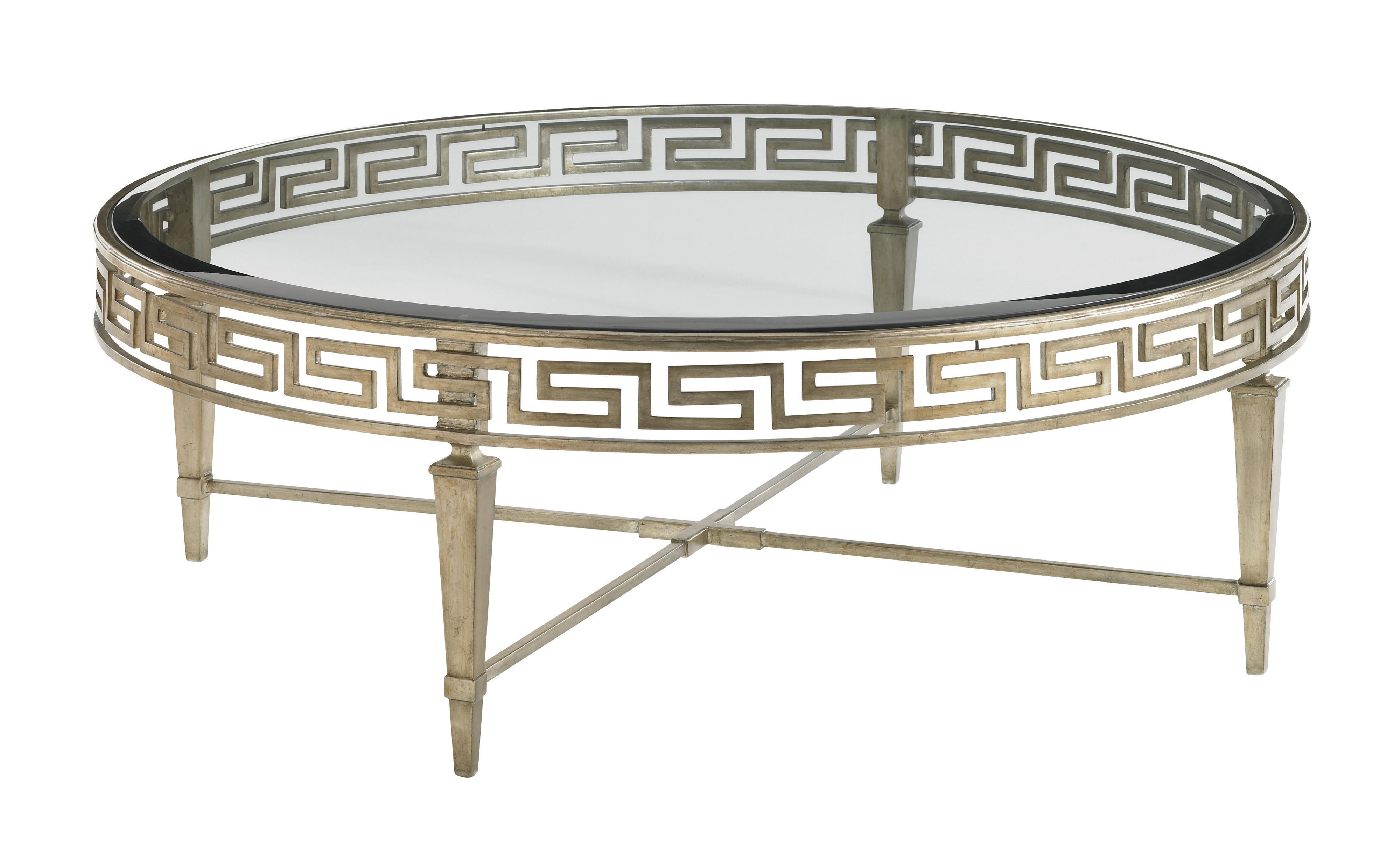 Tower Place Deerfield Round Cocktail Table by Lexington at Johnny Janosik