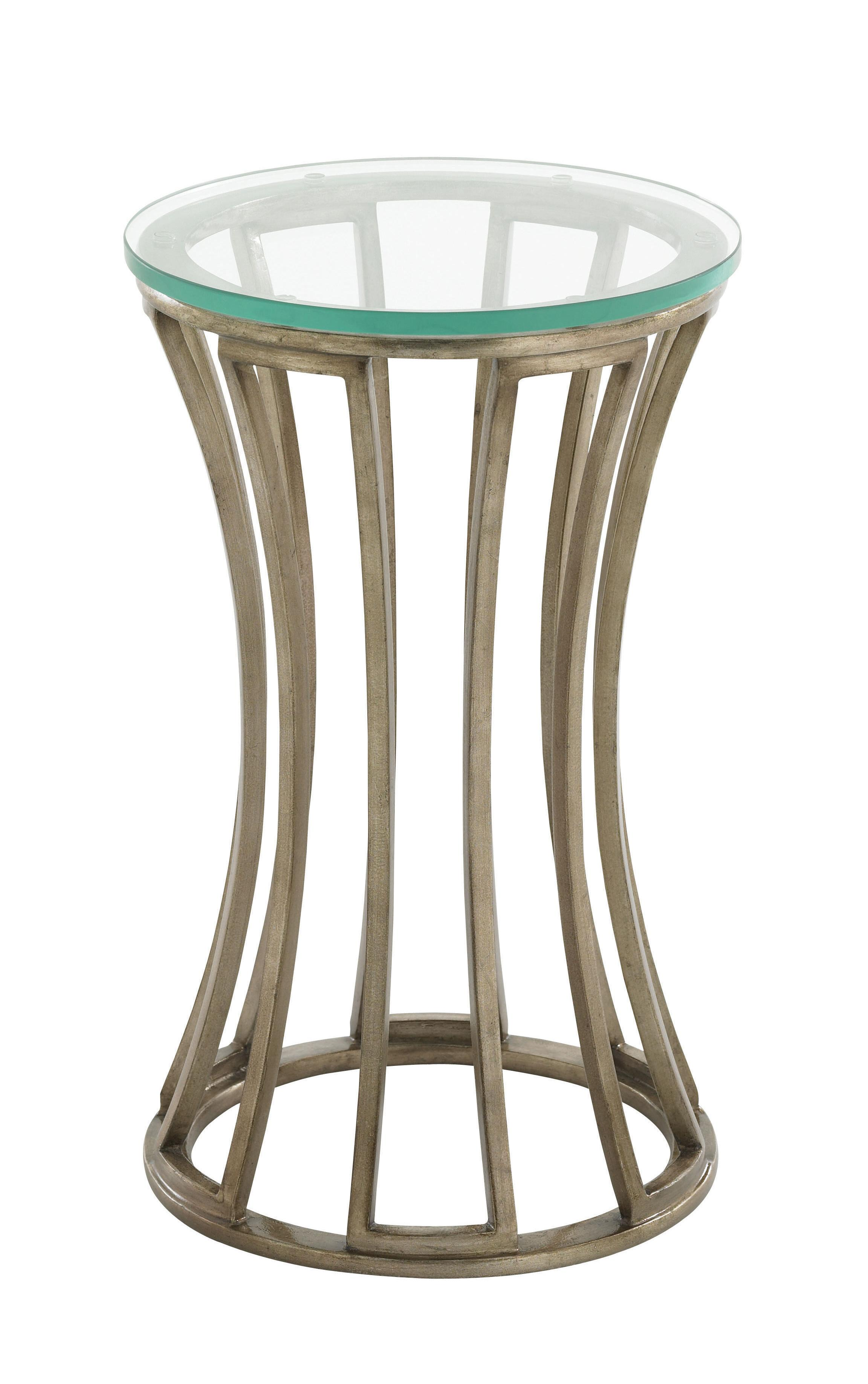 Tower Place Stratford Round Accent Table by Lexington at Johnny Janosik
