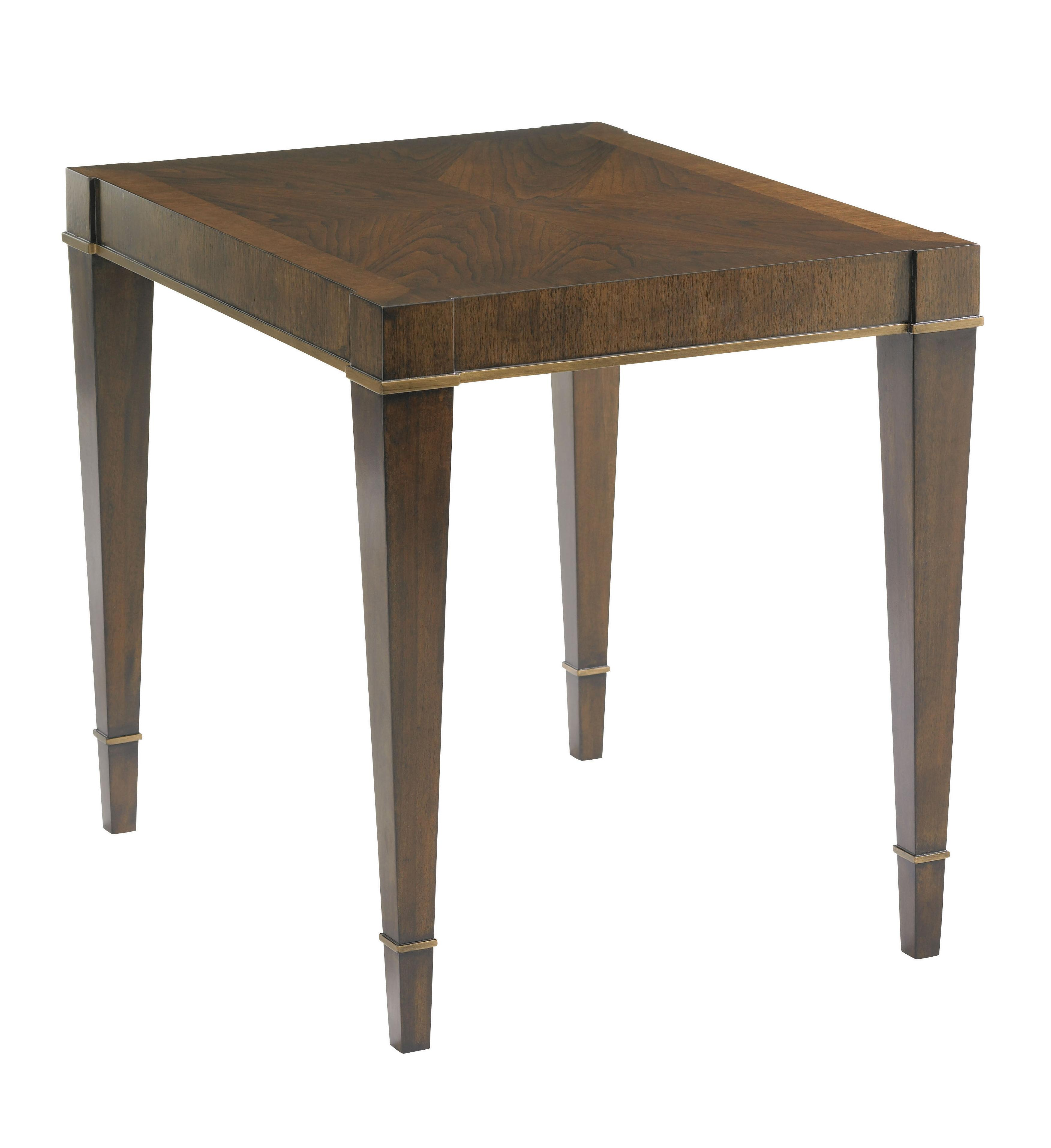 Tower Place Inverness End Table by Lexington at Fisher Home Furnishings