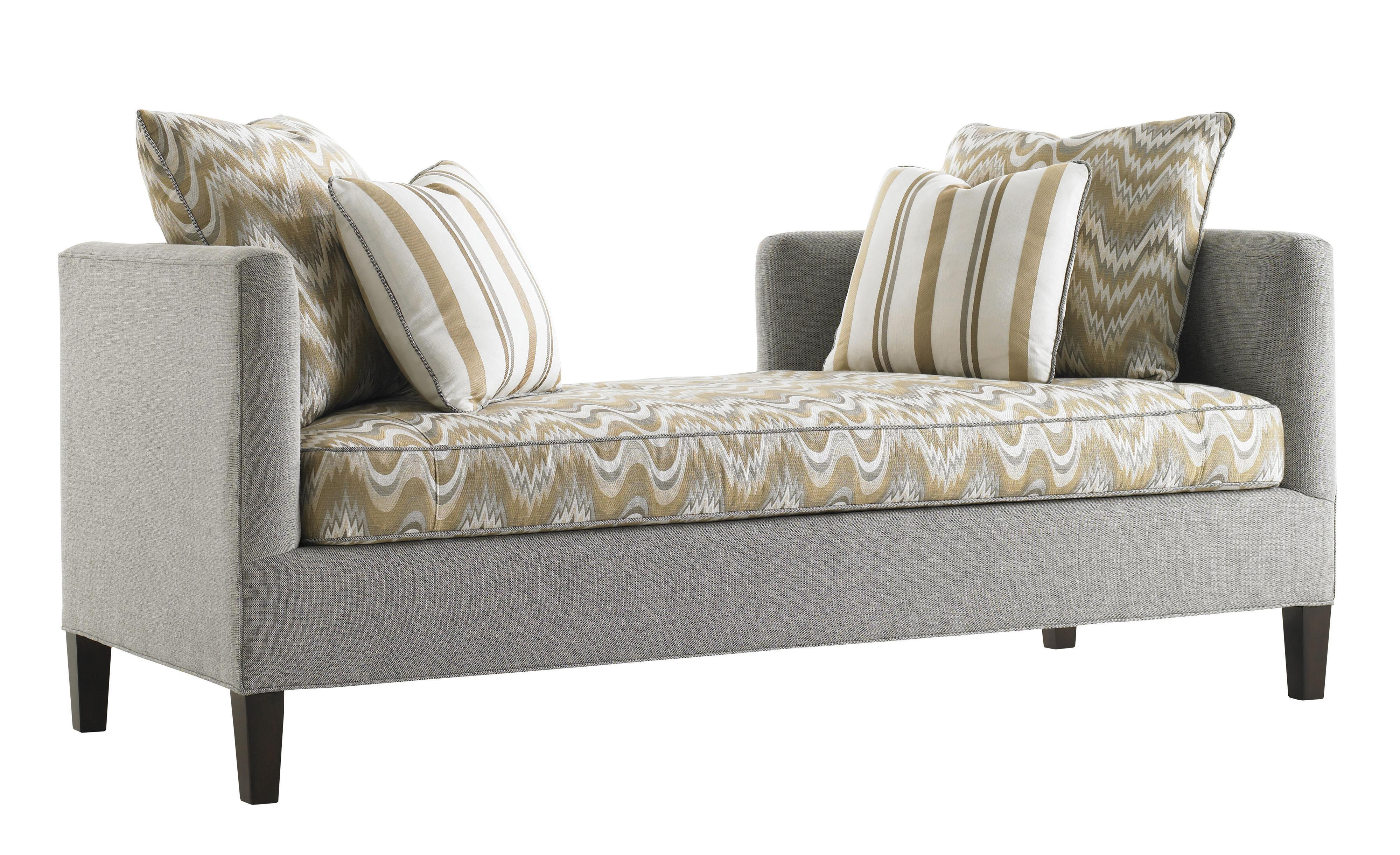 Tower Place Sebastian Settee by Lexington at Baer's Furniture