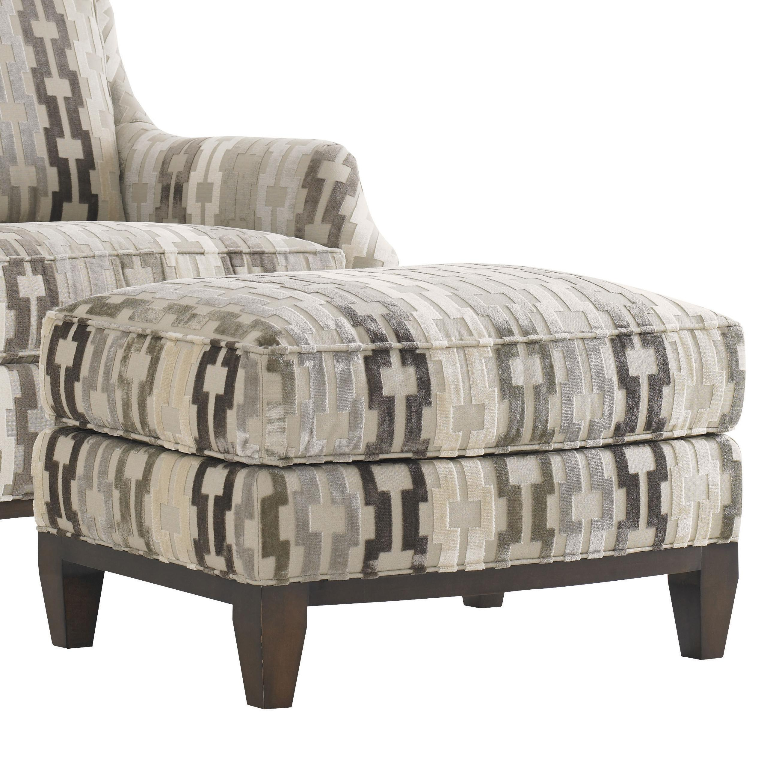 Tower Place Conrad Ottoman by Lexington at Johnny Janosik