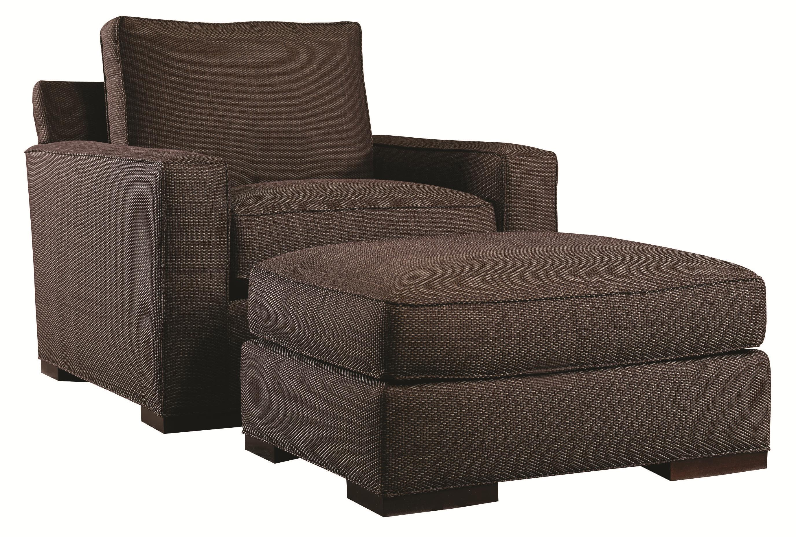 Urban Spaces - Bond Chair and Ottoman by Lexington at Baer's Furniture