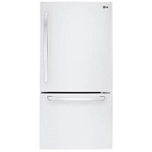 LG Appliances Bottom Freezer Refrigerators 22 cu. ft. Bottom Freezer Refrigerator