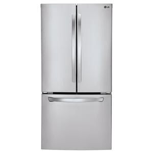LG Appliances Bottom Freezer Refrigerators 24 Cu.Ft. Ultra-Large Capacity Refrigerator