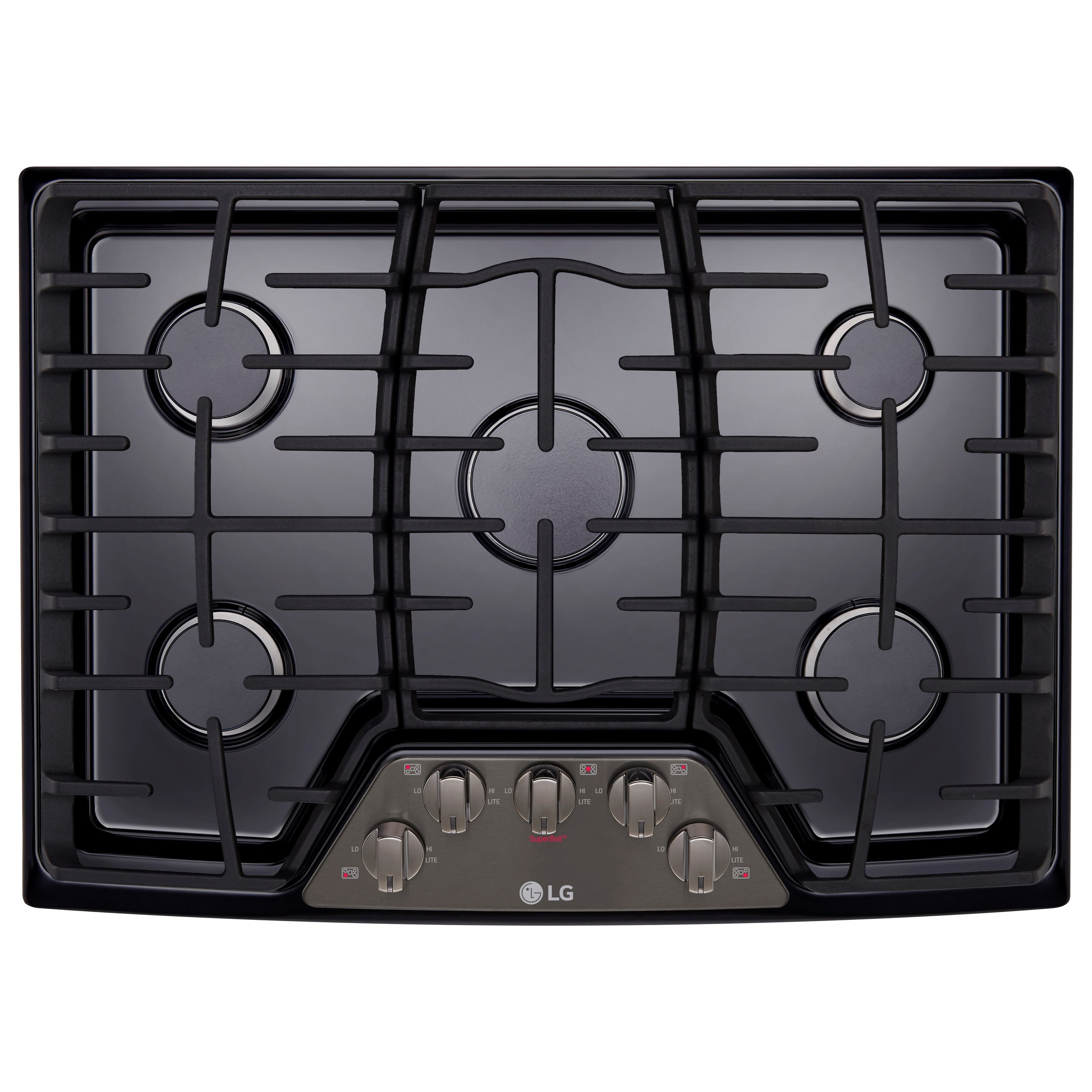 """Cooktops 30"""" Built-In Gas Cooktop by LG Appliances at Furniture and ApplianceMart"""