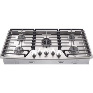 "LG Appliances Cooktops LG Studio - 36"" Gas Cooktop"