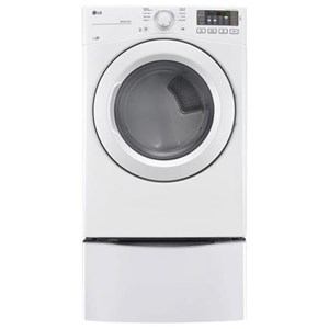 LG Appliances Dryers 7.4 cu. ft. Large Capacity Electric Dryer