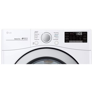 7.4 cu. ft. Ultra Large Capacity Smart wi-fi Enabled Electric SteamDryer™