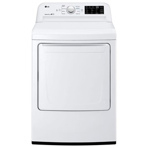 """7.3 cu. ft. 27"""" Electric Front-Load Dryer with Sensor Dry System and Dual LED Display"""