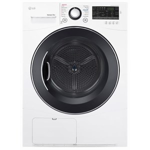 LG Appliances Dryers 4.2 cu.ft. Compact Front Load Dryer