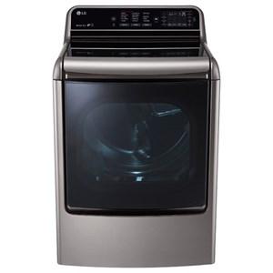 LG Appliances Dryers 9.0 Cu. Ft. Mega Capacity TurboSteam™ Dryer