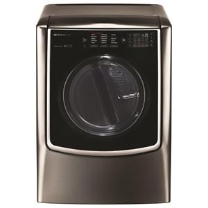 LG SIGNATURE: 9.0 Mega Capacity TurboSteam™ Electric Dryer