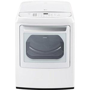 LG Appliances Dryers 7.3 Cu. Ft. Front Control Electric Dryer