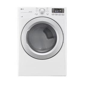 LG Appliances Dryers 7.4 Cu. Ft. Capacity Gas Dryer