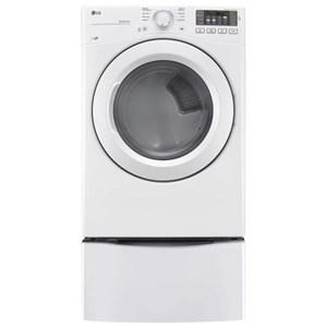 LG Appliances Dryers 7.4 cu. ft. Ultra Large Capacity Gas Dryer