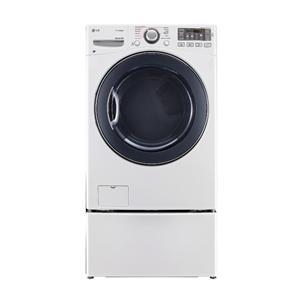LG Appliances Dryers 7.4 Cu. Ft. Front Load Gas Steam Dryer