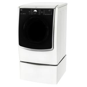 LG Appliances Dryers 7.4 Cu. Ft. Capacity TurboSteam® Gas Dryer