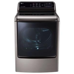LG Appliances Dryers 9.0 Cu.Ft. TurboSteam™ Dryer