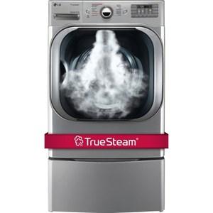 LG Appliances Dryers 9.0 Cu. Ft. Steam™ Technology Gas Dryer