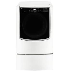 LG Appliances Dryers 9.0 Cu. Ft. Capacity TurboSteam® Gas Dryer