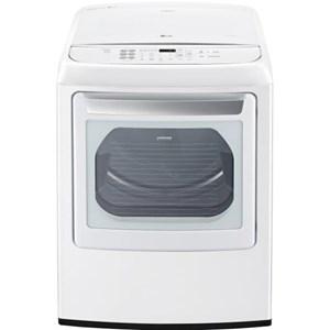 LG Appliances Dryers 7.3 Cu. Ft. Front Control Gas Dryer